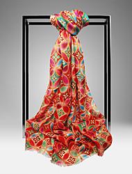 Meizhi Женская Непал Импорт Чистая шерсть 200 * 70см Красная шарф