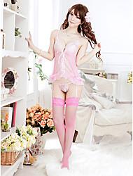 Women Babydoll & Slips/Lace Lingerie/Ultra Sexy Nightwear , Polyester