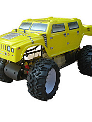 5.1 2WD Gas Powered Ready To RC Monster Truck (gelb) Führen