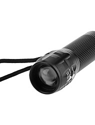 Lights LED Flashlights/Torch / Handheld Flashlights/Torch LED 200 Lumens 3 Mode AAA Adjustable FocusCamping/Hiking/Caving / Everyday Use