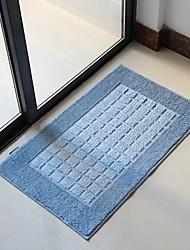 """Alfombra de baño moderno Solid Color azul Diseño decorativo W16 """"x L24"""""""