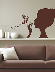 People Grace Girl Wall Stickers