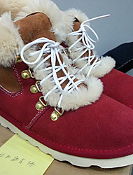 GS Frauen Red Cow Suede Tpr Sole Martin Stiefel