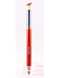 Q & M Mujeres Red de Fibra Pelo Largo Mango Resalte Brush