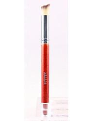 De Q & M Mulheres de Fibra Red Cabelo Comprido Handle Destaque Escova