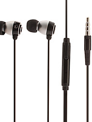 iP660 Hi-fi Stereo Music with Mic In-Ear Earphone Black
