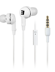 SENIC EST-R28i pliable In-Ear Earphonefor PC / iPhone / iPod / iPad / Samsung