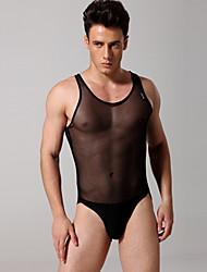 Sous-vêtements sexy des hommes Conjoined sous-vêtements slip transparent