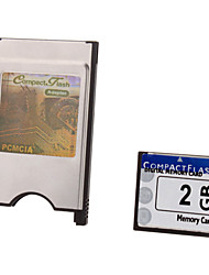 2G Ultra Digital CompactFlash Card with PCMCI Adapter