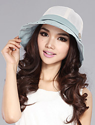Xiaerbeiluo Simple Large Brim Sun Hat(Blue)