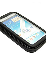 Ciclismo Nero Bike Water Resistant Bag + supporto del supporto per Samsung Note2