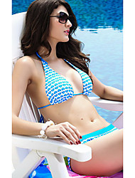 Sexy coeurs Halter Imprimer Bikini Set