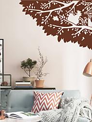 Direction arbres botanique décoratif Stickers muraux