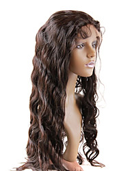 "18"" Straight Brazilian Human Hair Lace Wigs"