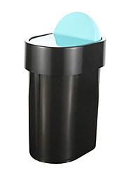 Mode rectangulaire à couvercle en plastique Bin - 2 couleurs Avaliable