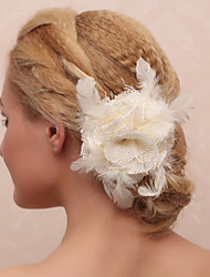 Graceful Fabrics And Lace Women'S Wedding Headpieces