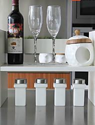 Modern White Wooden Desktop Shelf