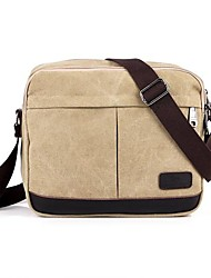 Casual Men Women Canvas Messenger Shoulder Bag