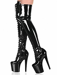 Women's Stiletto Heel Platform Over The Knee Boots Shoes