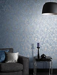 Modern Botânico não tecido papel de parede abstrato