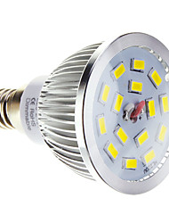 5W E14 LED Spot Lampen 15 SMD 5730 100-550 lm Warmes Weiß / Kühles Weiß Dimmbar AC 220-240 V