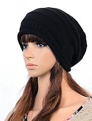 Femmes Crochet compliquer Baggy Slouchy chaud Knit Beanie