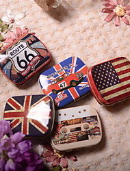 6 Piece/Set Favor Holder - Cuboid Tins Favor Tins and Pails/Favor Boxes Non-personalised