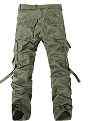 Men's Fashion Multiple Pockets  Plus Size Cargo Pants