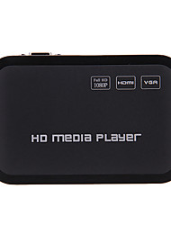 Mini-1080P Full HD Media Player HDMI / USB / SD / YPrPb / Av / VGA