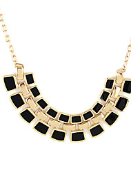 Kayshine Black Bohemia Style Split Joint Necklace
