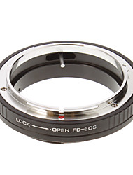 FD-EOS Camera Lens Adapter Ring (Noir)