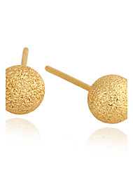 XINXIN Women's 18K Gold Zircon Earrings ERZ0421