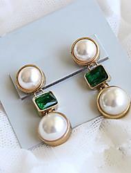 Moda feminina Pearls & Gemstone Studs