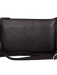 Women's Genuine Leather Envelope Clutch Messenger Female Clutch Big Bags