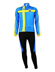 Kooplus - Шведский национальный велосипедной команды с длинным рукавом руно Биб костюм
