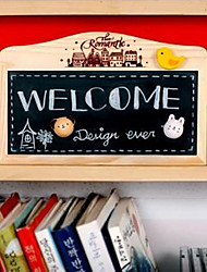 Two-sided Hanging Blackboard, Magnetic Message Board