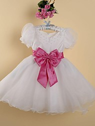Girl's Jacquard Dress,Organza Summer