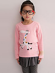 Girl's Tee Cotton Blend Winter