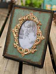 "8.5""H Contemporary Style Retro Table Top Picture Frame"