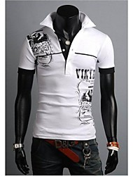 Herren Kurzarm Fashion Casual Polo-T-Shirt für Männer 3 Farben