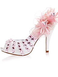 Women's Wedding Shoes Peep Toe/Platform Heels Wedding/Party & Evening Pink
