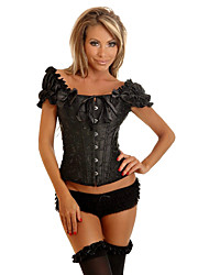 Jacquard devant Busk fermeture acier désosser corset shapewear (plus de couleurs)
