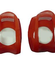 Ultra SILICON étanche lumineux LED Bike Light SET 2 LED avant + lumière arrière