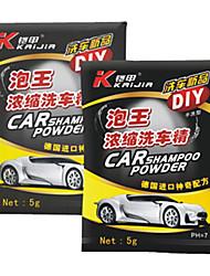 Concentré voiture shampooing poudre 5G