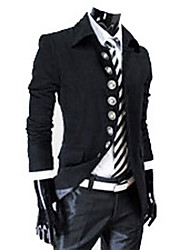 Aowofs Men'S Jackets Standing Collar Black