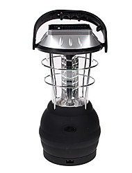 36 LED Lights Hand Crank Solar Lantern Camping Lamp with Charger(CIS-54038)
