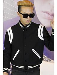 jaqueta de beisebol na moda masculina