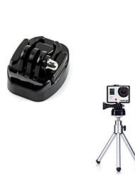Lo nuevo Negro del trípode del montaje con Plug de instalación rápida para GoPro Hero 3 2