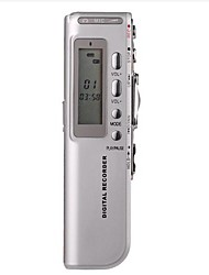 8G MP3 Digital Voice Recorder Silber