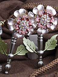 Deluxe Country Flower Shape Holdbacks (One Pair)